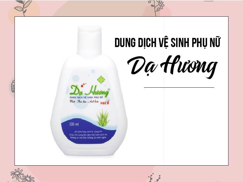 Sản phẩm vệ sinh vùng kín Dạ Hương