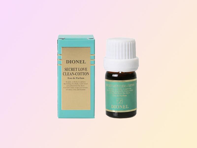 Nước hoa vùng kín Dionel Secret Love Clean Cotton cho mùi hương thanh mát của bạc hà