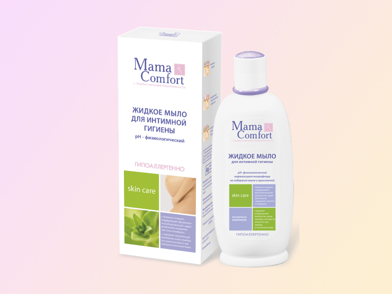 Dung dịch vệ sinh phụ nữ Mama Comfort