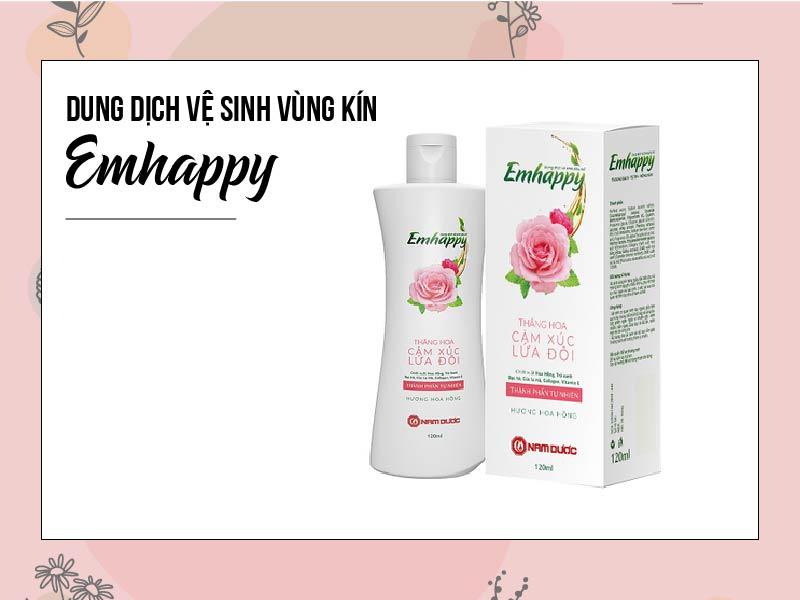 Emhappy - Dung dịch vệ sinh phụ nữ do Công ty Nam Dược sản xuất