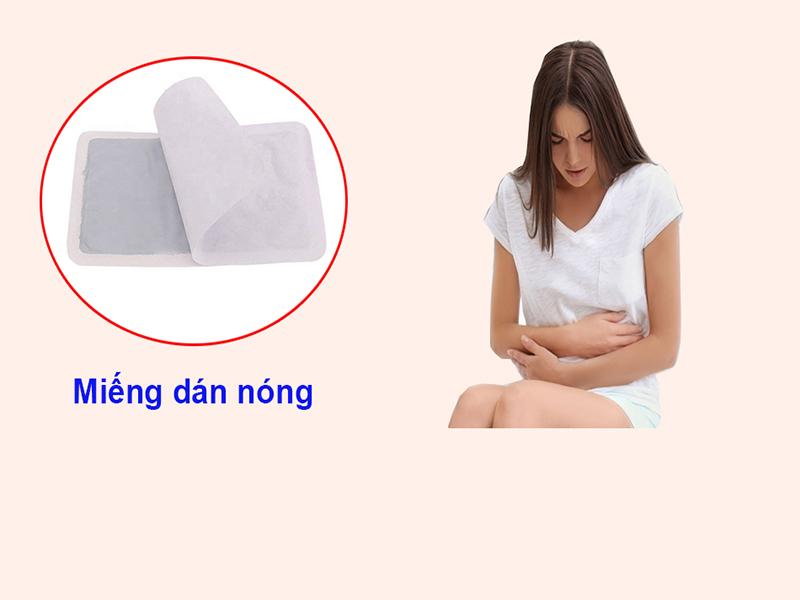 Miếng dán nóng giảm đau bụng kinh