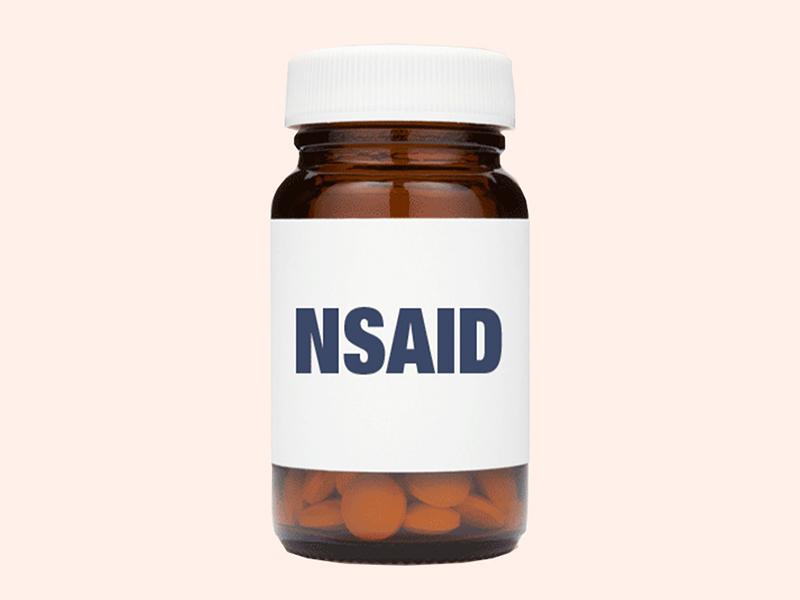 Thuốc kháng viêm non-steroid ( NSAIDS) làm giảm đau bụng kinh