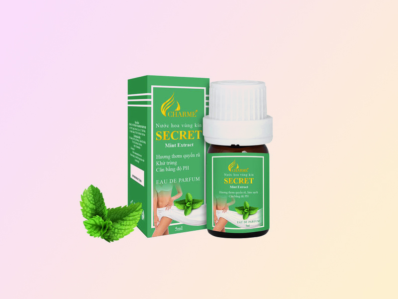 Charme Secret Mint Extract (màu xanh)