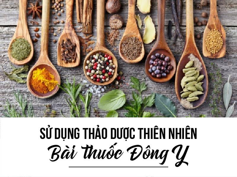 Sử dụng các loài thảo dược thiên nhiên- Bài thuốc Đông y.