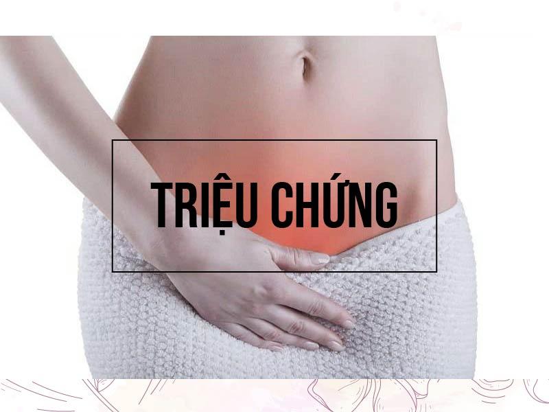 Triệu chứng của viêm lộ tuyến cổ tử cung