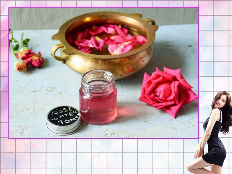 Đun nước hoa hồng sau đó ngưng tụ