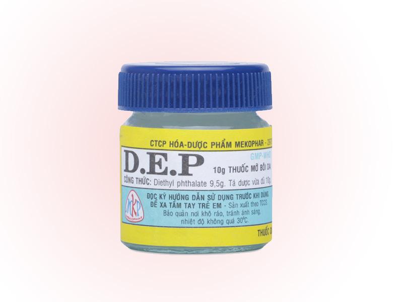 DEP là thuốc thường dùng trong điều trị rận lông mu