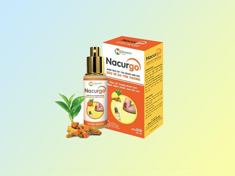 Dung dịch xịt tạo màng sinh học Polyesteramide - Nacurgo
