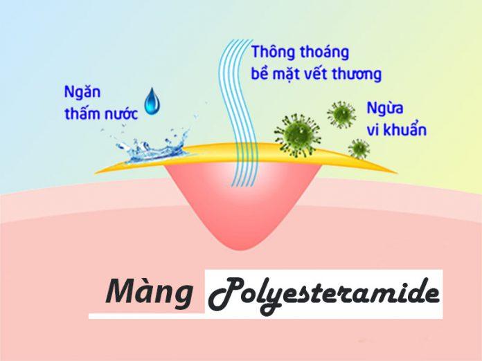 Màng sinh học Polyesteramide