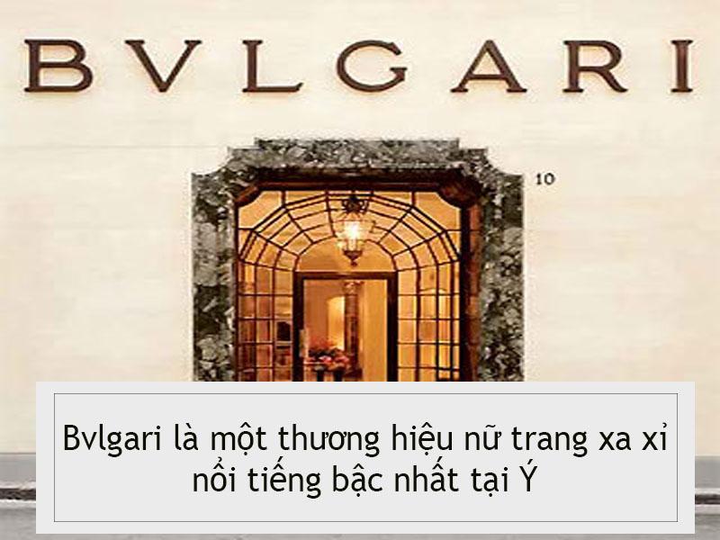 Hình ảnh minh họa: Thương hiệu Bvlgari
