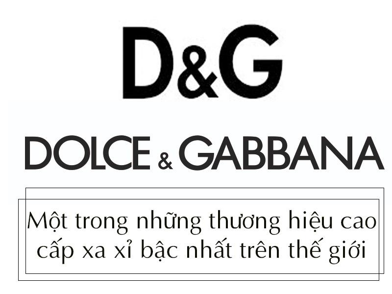 Hình ảnh minh họa: Thương hiệu Dolce & Gabbana